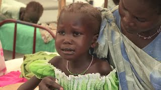 Famine looms in South Sudan, where resurgent conflict has raised pre-existent emergency levels of undernutrition among children to grave heights. Subscribe t...