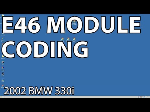 BMW E46 How To Code Module Options