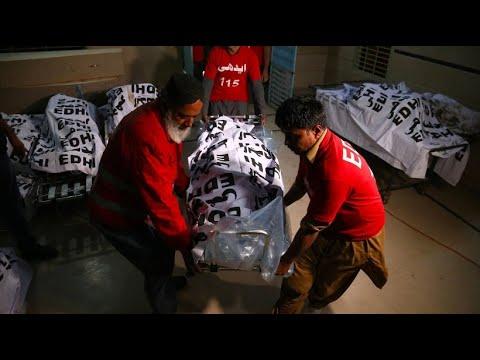 Pakistan: Dutzende Tote nach Busunglück