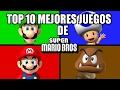 Top 10 Mejores Juegos De Mario Bros