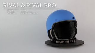 K2 Rival and Rival Pro Helmet 2014