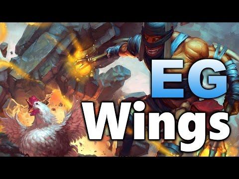 EG vs WINGS - TI5 vs TI6 Elimination - Boston Major Dota 2 (видео)