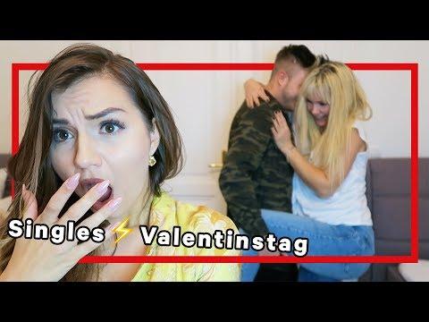 Singles am Valentinstag - Fluch oder Segen?