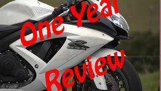 2. 2009 Suzuki Gsxr600 (Pearl) One Year review