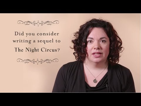 Erin Morgenstern on writing THE NIGHT CIRCUS and THE STARLESS SEA