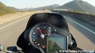 5. aprilia Dorsoduro 750 0-100km/h (0-170km/h) acceleration