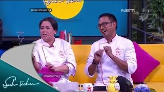 Sarah Sechan with Chef Spice it Up! Indonesia