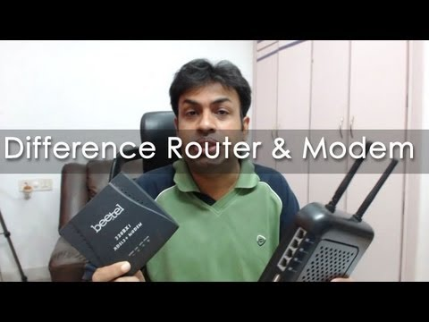 routers - In this video I explain the basic difference between a modem and a router as many people get confused between them as these days you get hybrid devices that ...