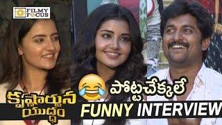 Video Krishnarjuna Yuddham Movie Team Funny Interview || Nani, Anupama - Filmyfocus.com MP3, 3GP, MP4, WEBM, AVI, FLV September 2018