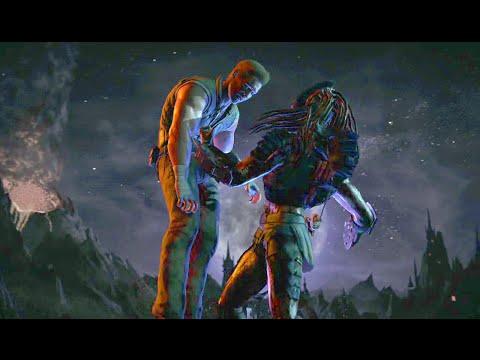 Mortal Kombat XL - Predator (Hunter) Endless Tower (видео)