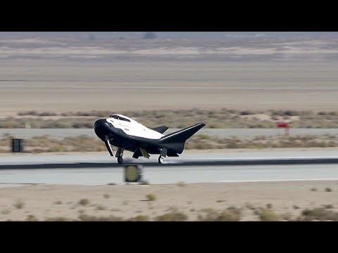 Dream Chaser spacecraft Free Flight Test, 11 November 2017 © SciNews