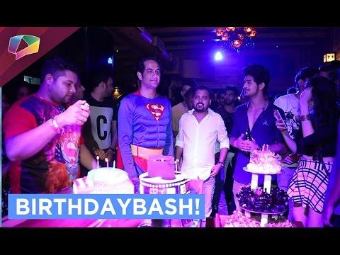 Checkout Vikas Gupta's superhero themed Birthday p