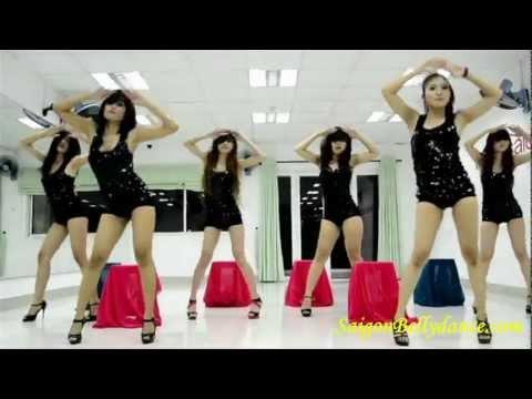 Học nhảy Sexydance cover DANCE FOR YOU BEYONCE – Saigonbellydance