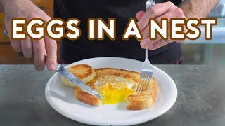 Binging with Babish: Eggs in a Nest from Lots of Stuff