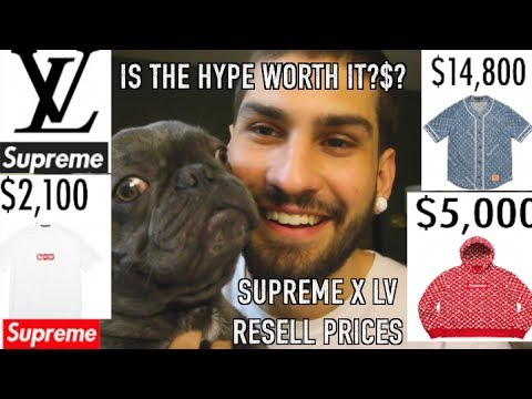 SUPREME x LOUIS VUITTON: WORTH THE PRICE? RESTOCK? RESELL DIE? + TRAVELING THE COUNTRY BY BUS!!