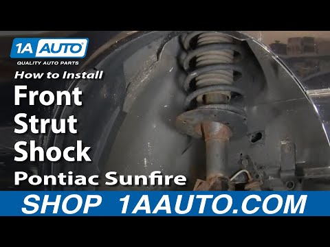How To Install Replace Front Strut Shock Cavalier Sunfire 95-05 1AAuto.com