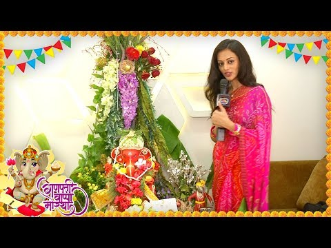 Kajol Srivastava Ganpati Celebrations At Her House