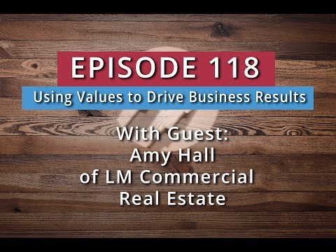 Watch '118: Using Values to Drive Business Results (Amy Hall) - YouTube'