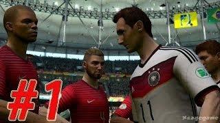 Video 2014 FIFA World Cup - Walkthrough Gameplay Part 1 - Group G -  Germany vs Portugal [ HD ] MP3, 3GP, MP4, WEBM, AVI, FLV Desember 2017