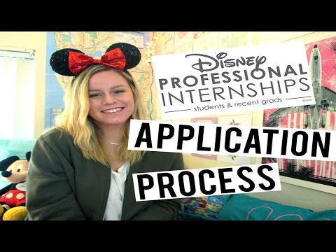 Application Process | Disney Professional Internship