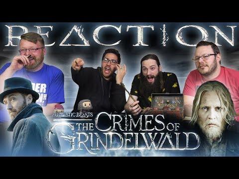 Fantastic Beasts: The Crimes of Grindelwald - Official Teaser Trailer REACTION!!