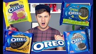 J'ai ramené plein de saveurs weird de biscuits Oréos étrange lors de mon dernier voyage aux États-Unis! Je teste les Oreos au...