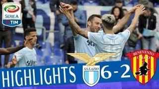Video Lazio - Benevento 6-2 - Highlights - Giornata 30 - Serie A TIM 2017/18 MP3, 3GP, MP4, WEBM, AVI, FLV Agustus 2018