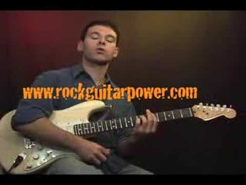 Online Guitar Lessons – Power Chords