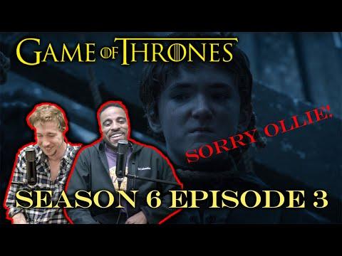 "Game of Thrones SEASON 6 EPISODE 3 REACTION!!!! | ""Oathbreaker"""