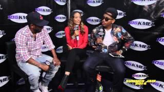 Shay Diddy & DC Interview Kendrick Lamar at 2014 KMEL Summer Jam