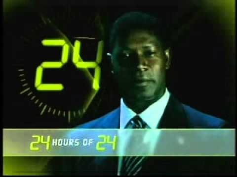 "Dennis Haysbert ""24 Hours of 24″ FX Promo"
