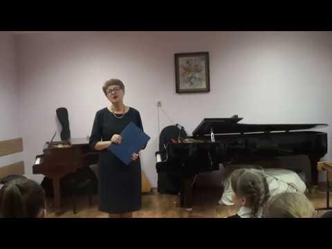 Отчетный концерт отд. духовых и ударных 2019