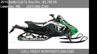 1. 2010 Arctic Cat F8 Sno Pro  for sale in Lewiston, ME 04240 a