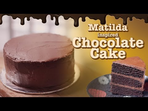 MATILDA CHOCOLATE CAKE | RESEP CAKE COKELAT DARI FILM MATILDA | MOVIE RECIPE #4