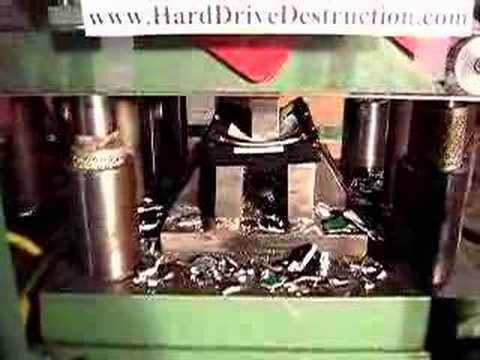 Hard Drive Smashed Maxtor or Seagate