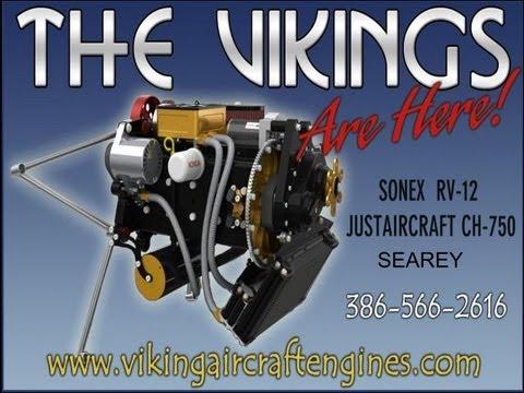 Viking Engine, Viking Aircraft Engine, Viking Honda aircraft engine conversion
