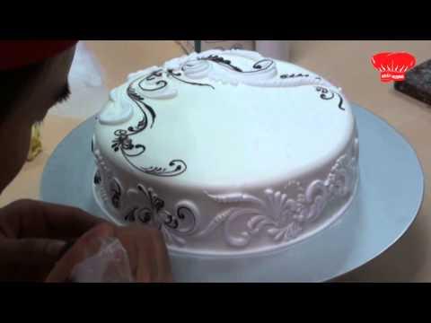 Видио оформление тортов фото