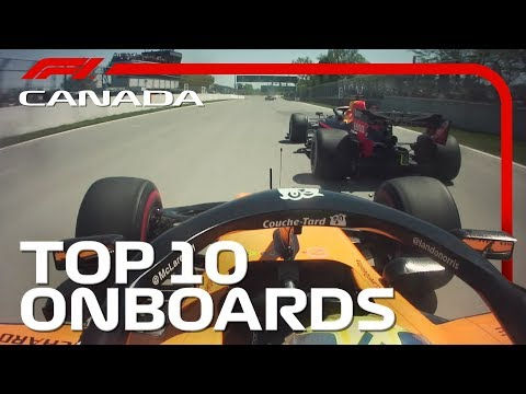 Lewis Vs. Seb And The Top 10 Onboards | 2019 Canadian Grand Prix