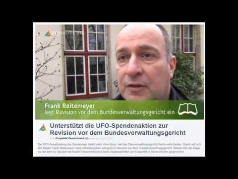 UFO-Klage gegen Bundestag: Jugendradio MDR Jump berichtete am 13.11.2013
