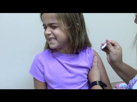 Flu Shots for 6 Kids and 2 Year Old Doctor Checkup | Crazy8Family