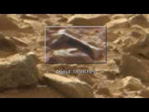 Mars Leg Bone & Alien Animal Corpse: Curiosity Rover Anomalies. ArtAlienTV – MARS ZOO 720p