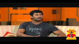 Sandhippoma @ Cinema Cafe - Pandiya Nadu (Actor Vishal&Lakshmi Menon) 13.10.2013 Thanthi Tv