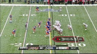Sharrif Floyd vs Louisville (2012 Bowl)