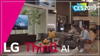 LG at CES 2019-LG ThinQ