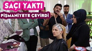 Video Öyle Bir Boya Sürdü Ki Modelin Saçı Kökünden Koptu! MP3, 3GP, MP4, WEBM, AVI, FLV Juli 2018