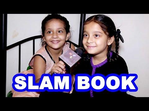 Sargam Khurana and Adaa Narang's Slam Book