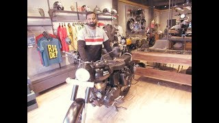 9. Royal Enfield classic 500 stealth black with ABS first detail review