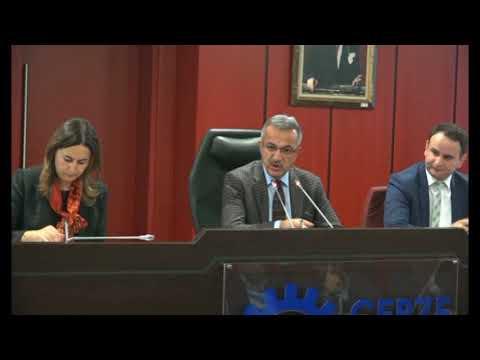 Gebze Belediyesi Ocak ayı olağan meclis toplantısı
