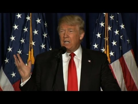 Donald Trump's entire foreign policy speech