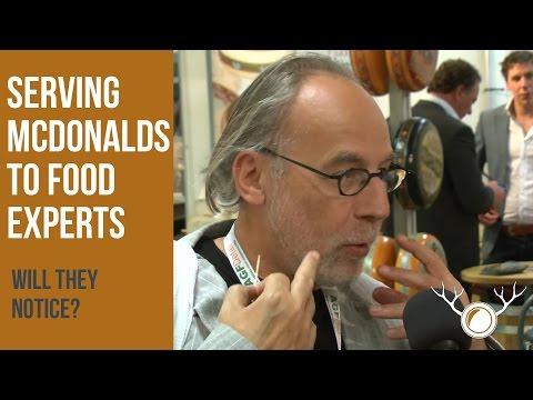 用麥當勞的食物假裝是有機食品,美食家分辨得出來嗎?